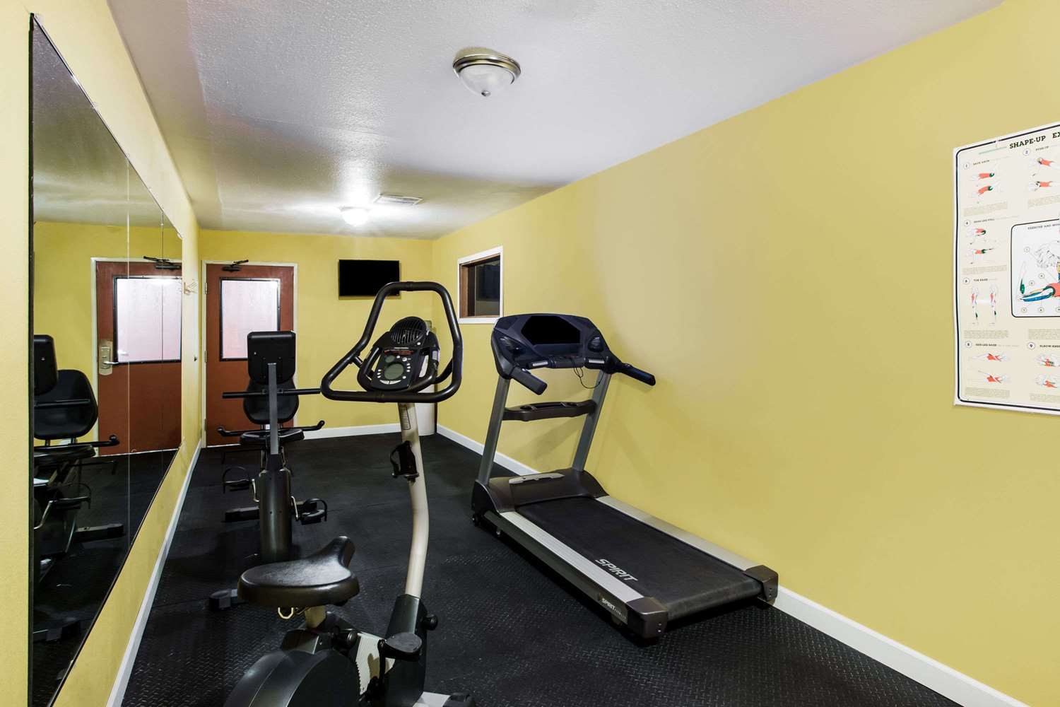 Fitness/ Exercise Room - Ramada Hotel Sioux Falls