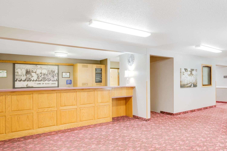 Lobby - Super 8 Hotel Jackson