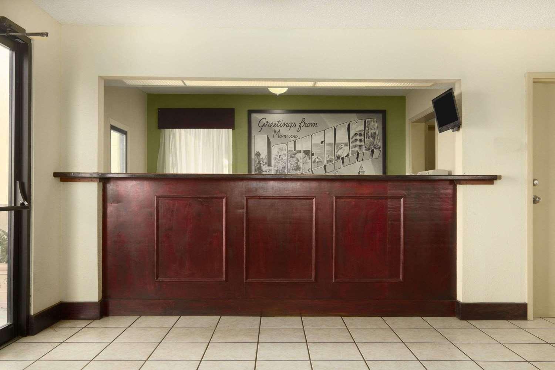 Lobby - Super 8 Hotel Monroe
