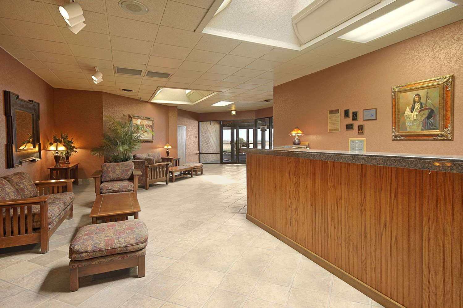 Lobby - Ramada Inn Sterling