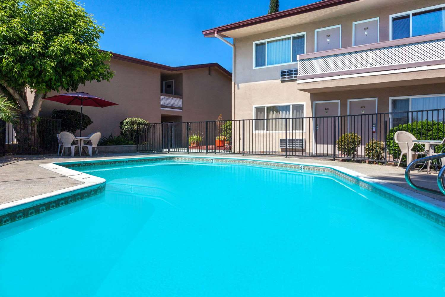 Pool - Super 8 Hotel Canoga Park