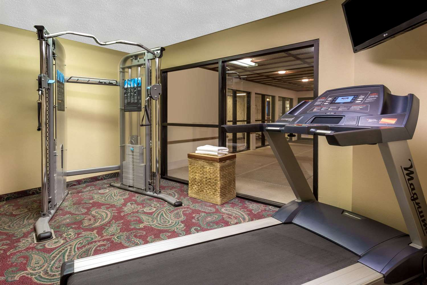 Fitness/ Exercise Room - Super 8 Hotel Watertown