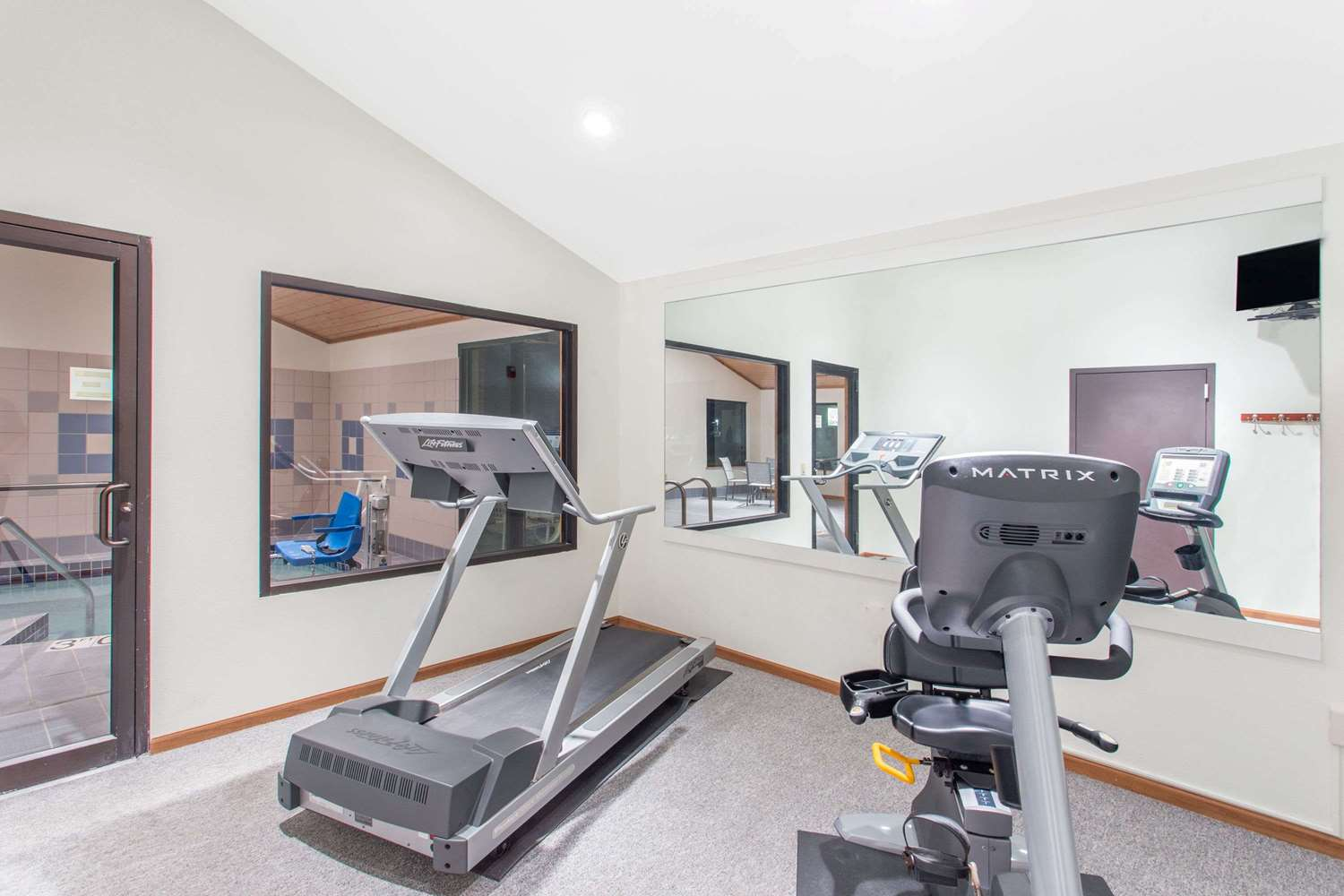 Fitness/ Exercise Room - Super 8 Hotel Dodgeville