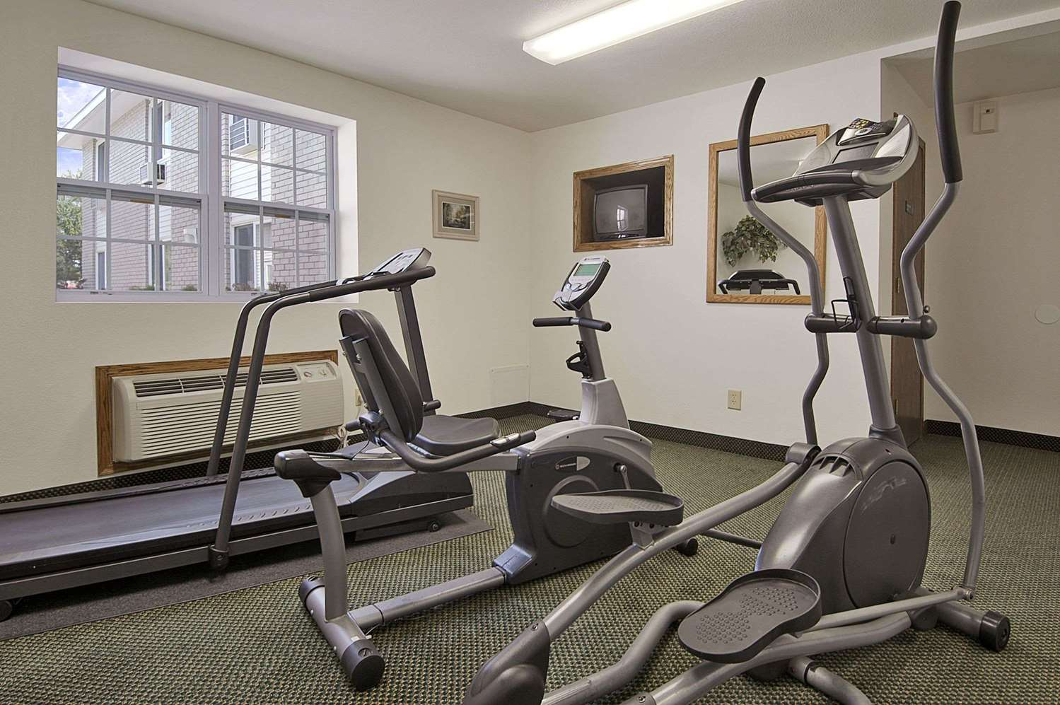 Fitness/ Exercise Room - Super 8 Hotel Iron Mountain