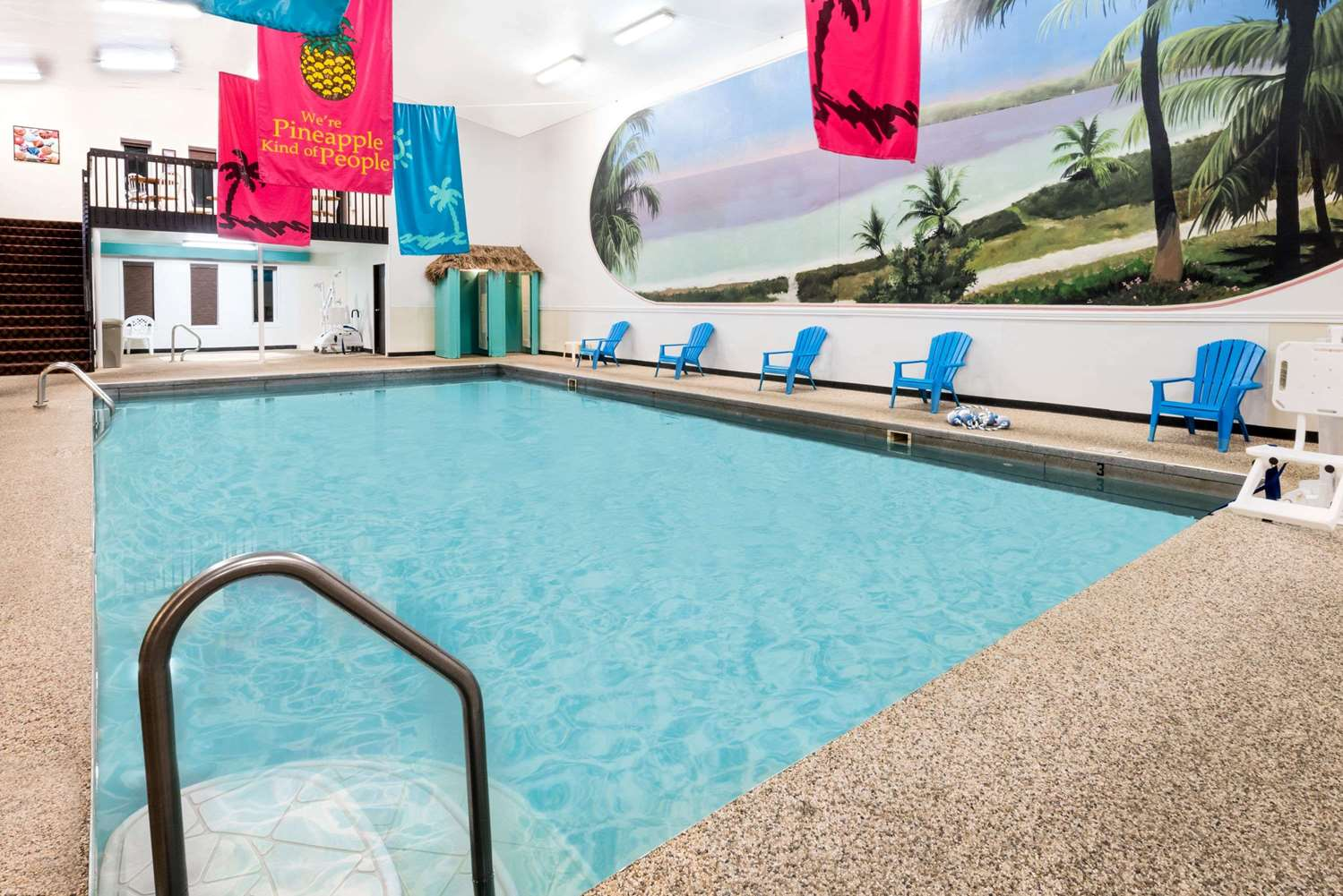 Pool - Super 8 Hotel Huron