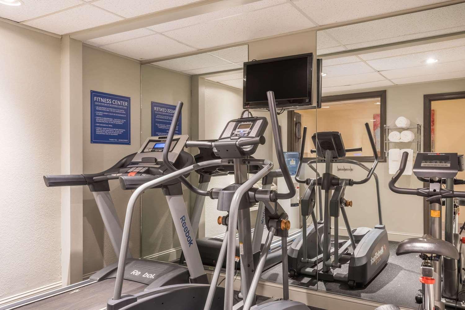 Fitness/ Exercise Room - Days Inn Greenfield