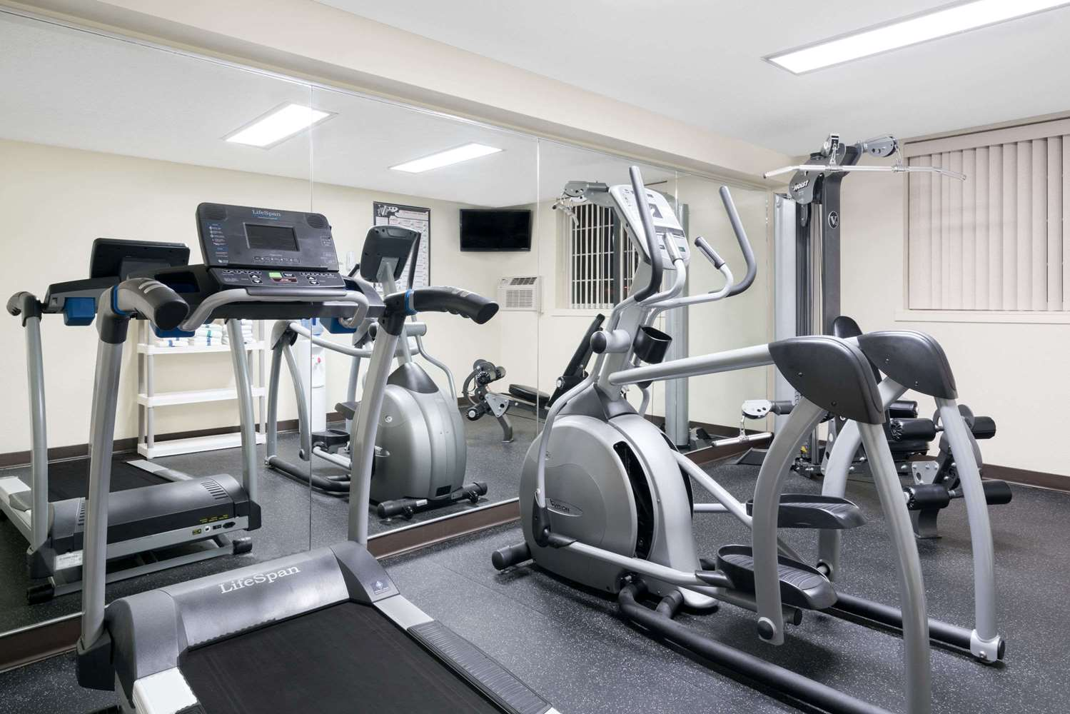 Fitness/ Exercise Room - Super 8 Hotel Winona