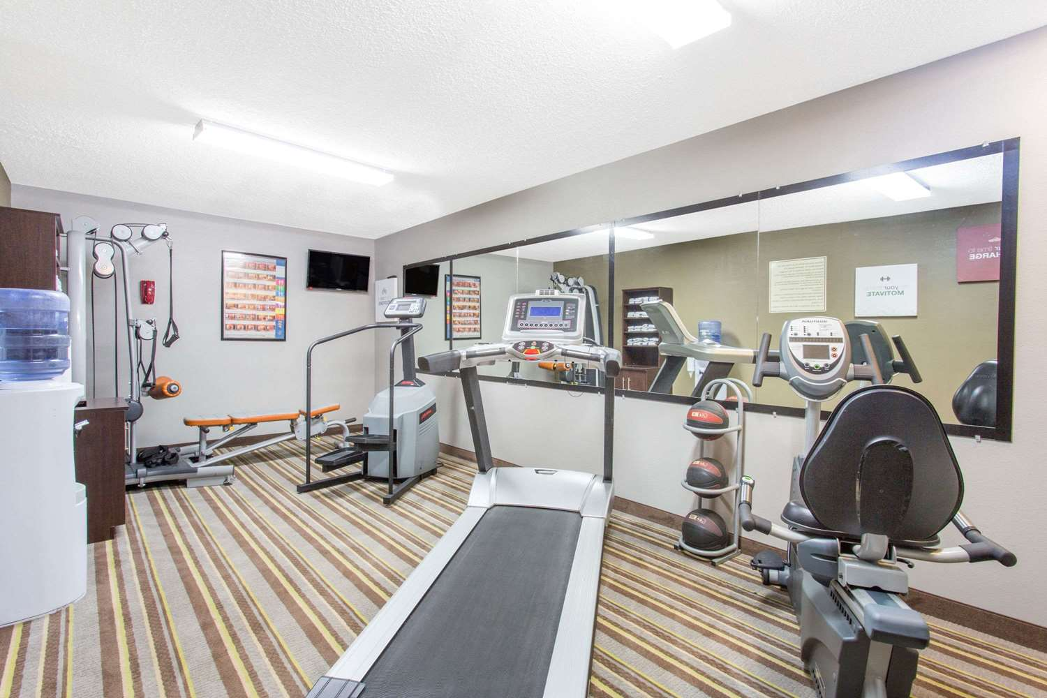 Fitness/ Exercise Room - Super 8 Hotel Wytheville