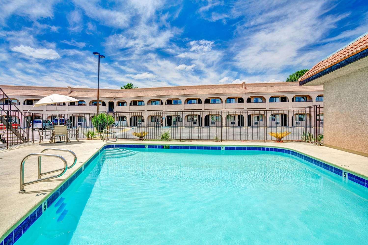 Pool - Super 8 Hotel Nellis AFB Las Vegas