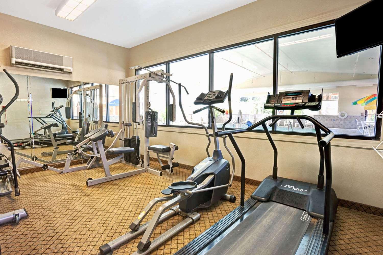 Fitness/ Exercise Room - Days Inn Ann Arbor