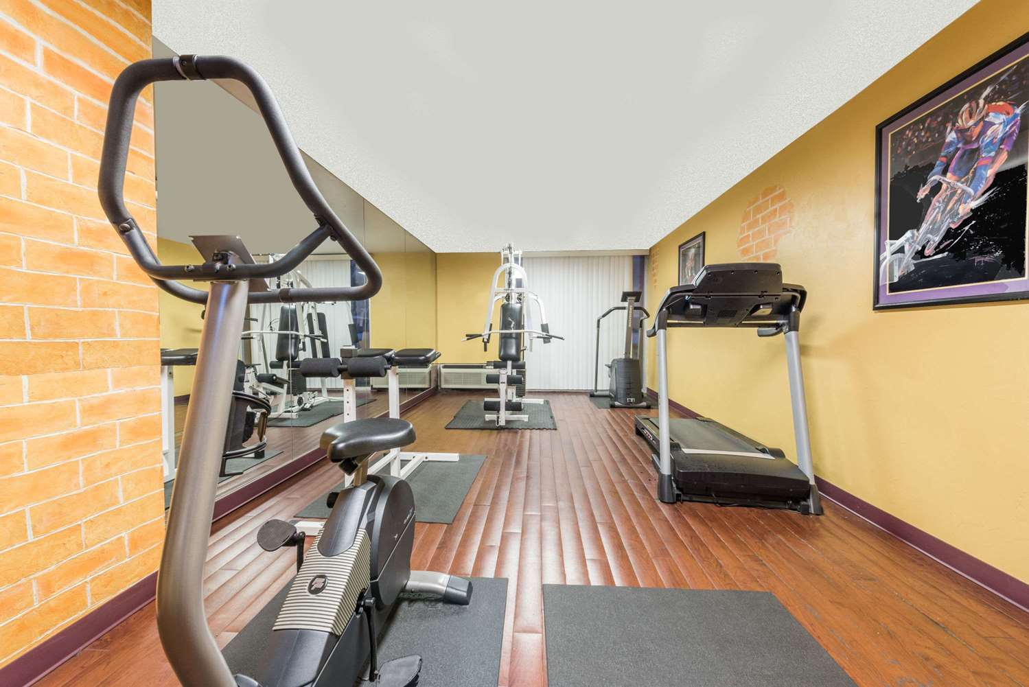 Fitness/ Exercise Room - Ramada Inn Love Field Dallas