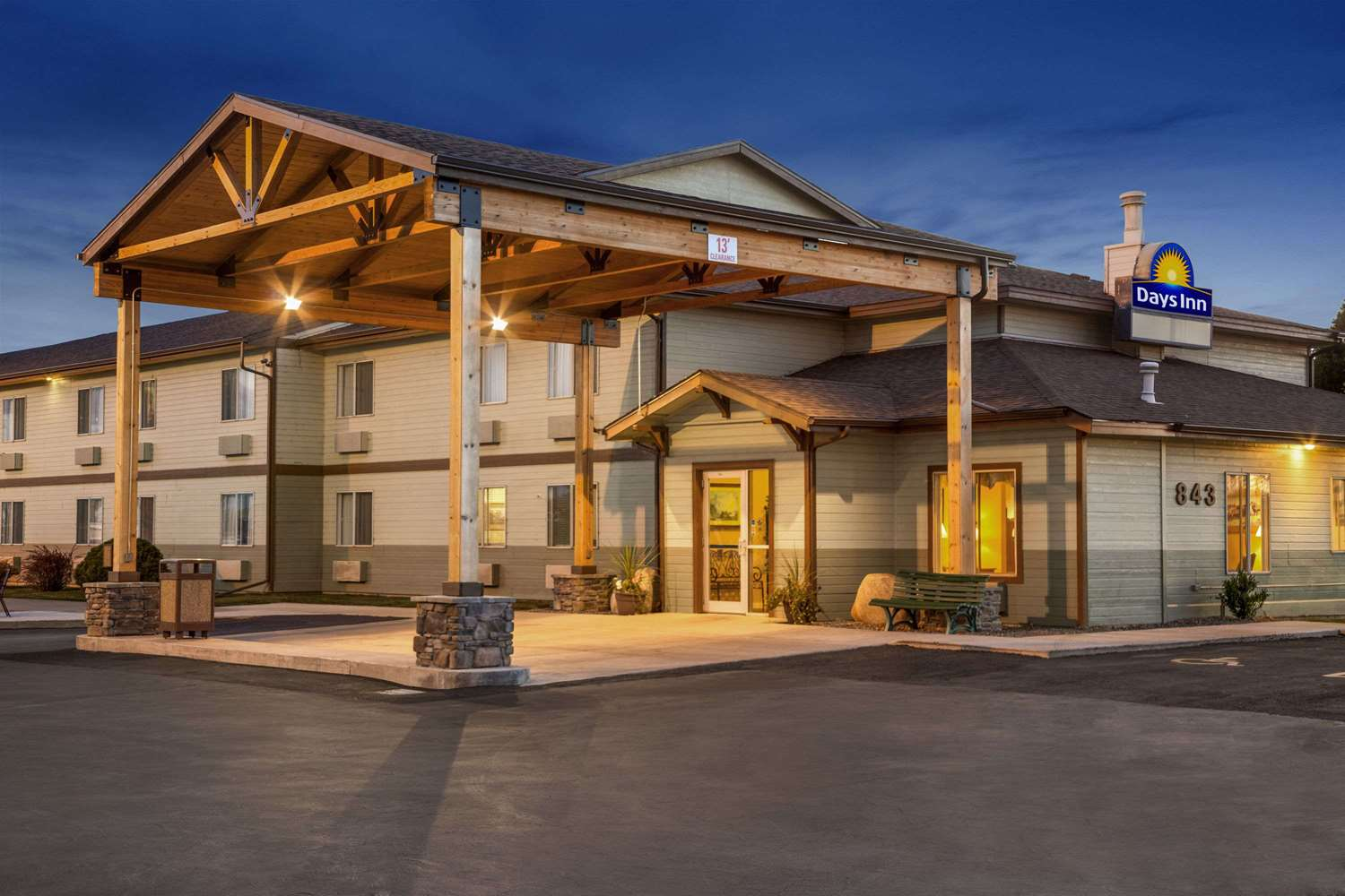 Exterior view - Days Inn Billings