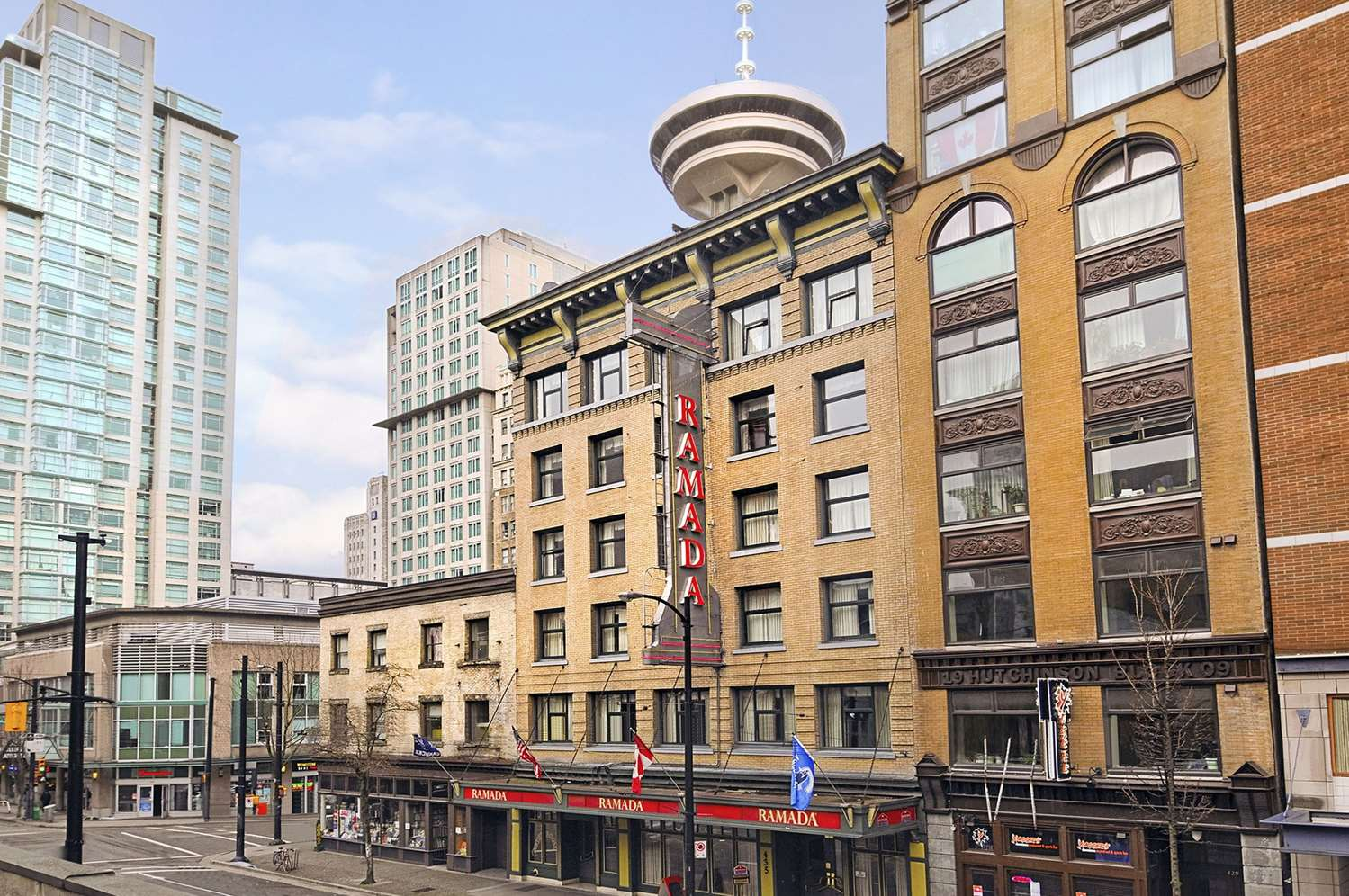 Exterior view - Ramada Limited Hotel Downtown Vancouver