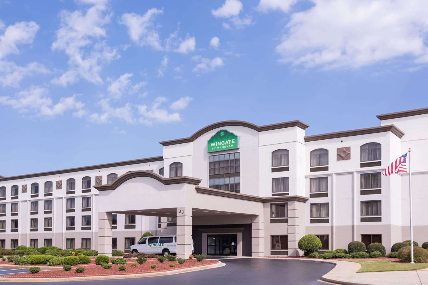 Exterior view - Wingate by Wyndham Hotel Airport Greenville