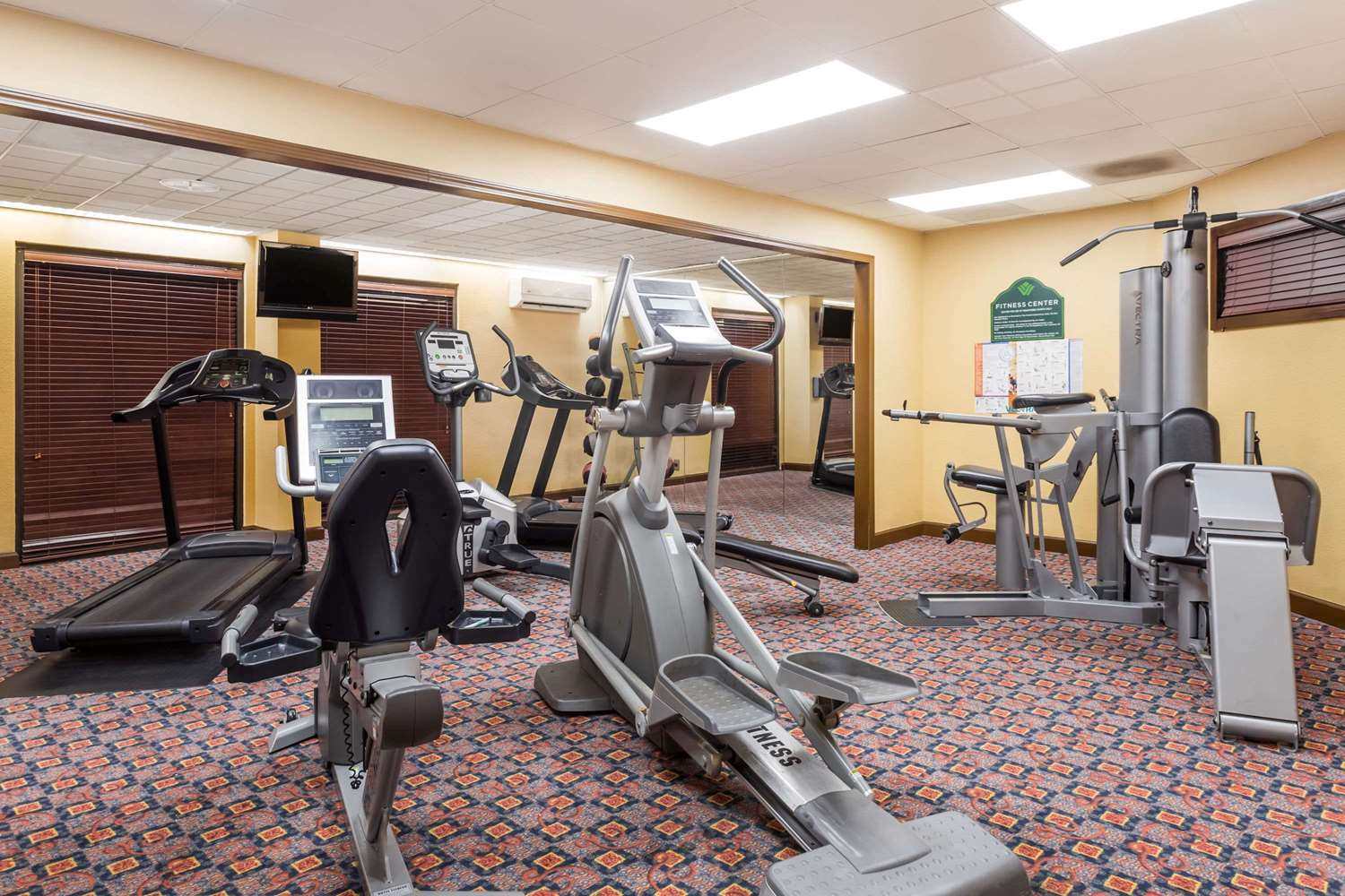 Fitness/ Exercise Room - Wingate by Wyndham Hotel Airport Greenville