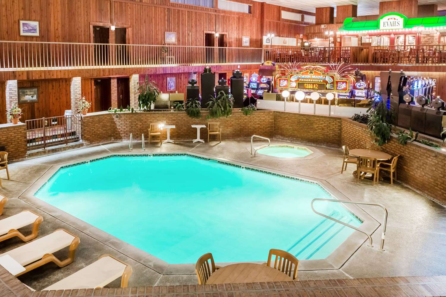 Pool - Ramada Inn & Copper Queen Casino Ely