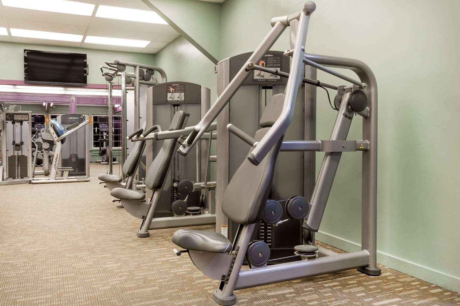 Fitness/ Exercise Room - Ramada Inn & Copper Queen Casino Ely