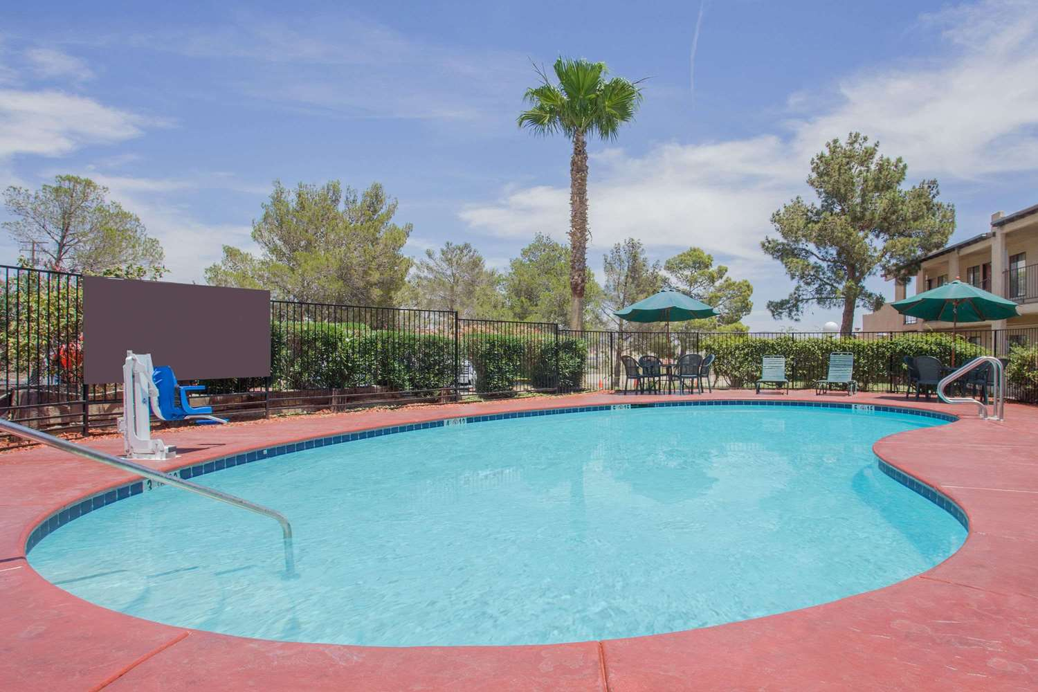Pool - Super 8 Hotel Barstow