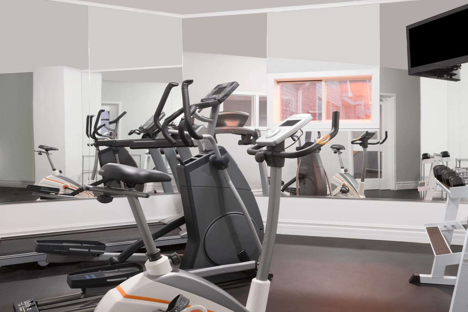 Fitness/ Exercise Room - Super 8 Hotel Mt Hope