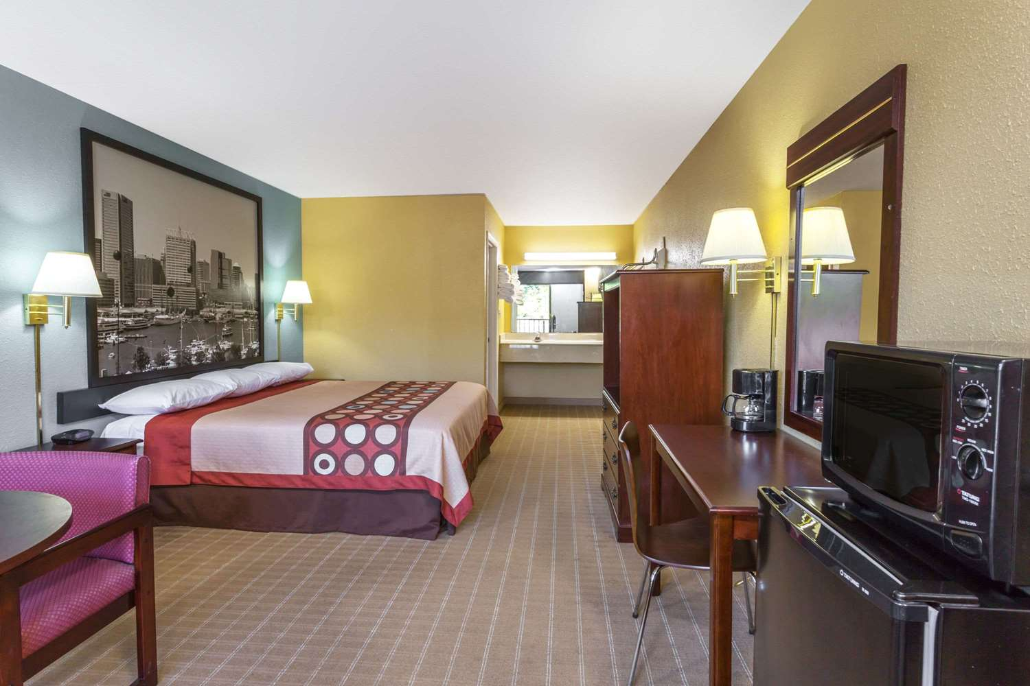 Room - Super 8 Hotel Jessup
