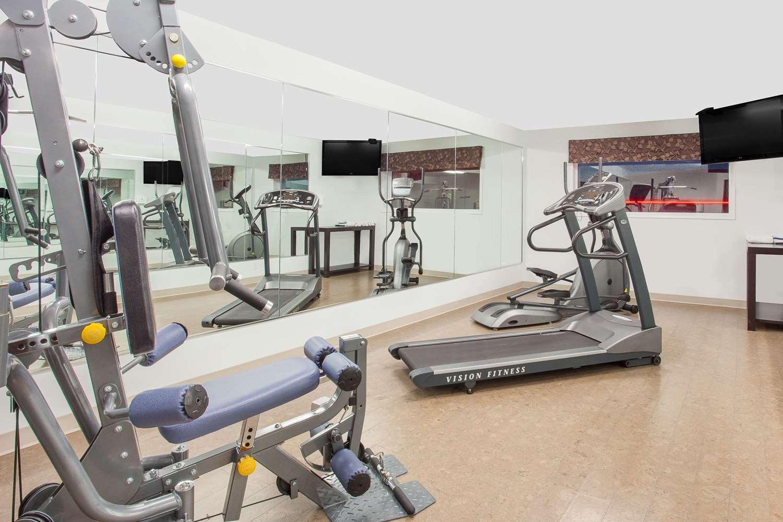 Fitness/ Exercise Room - Super 8 Hotel Brandon