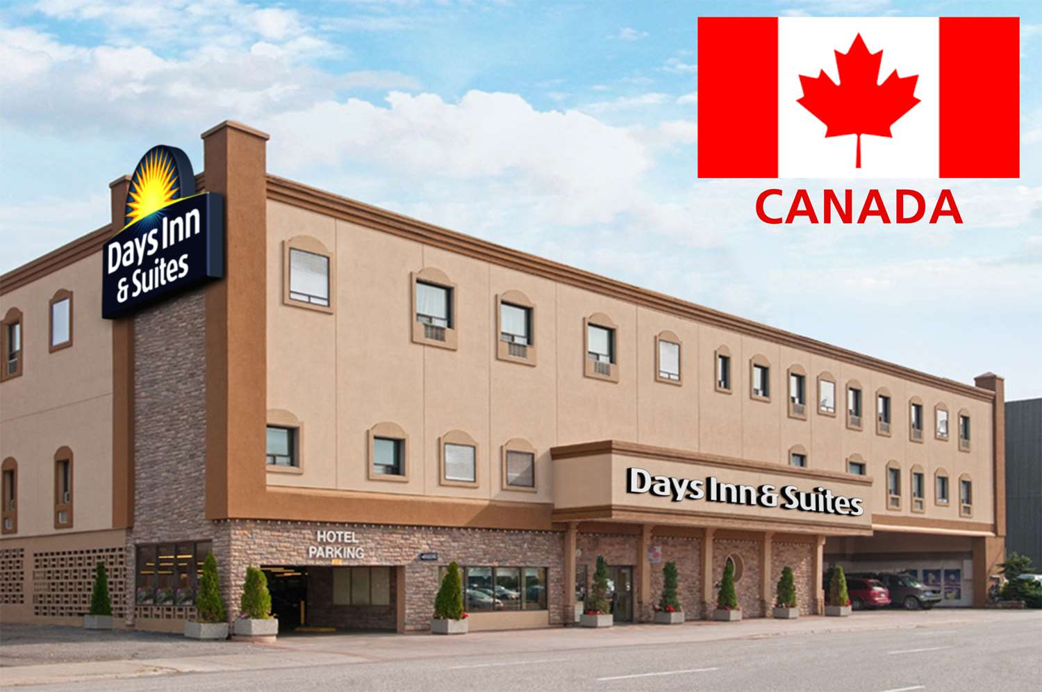Exterior view - Days Inn & Suites Sault Ste Marie