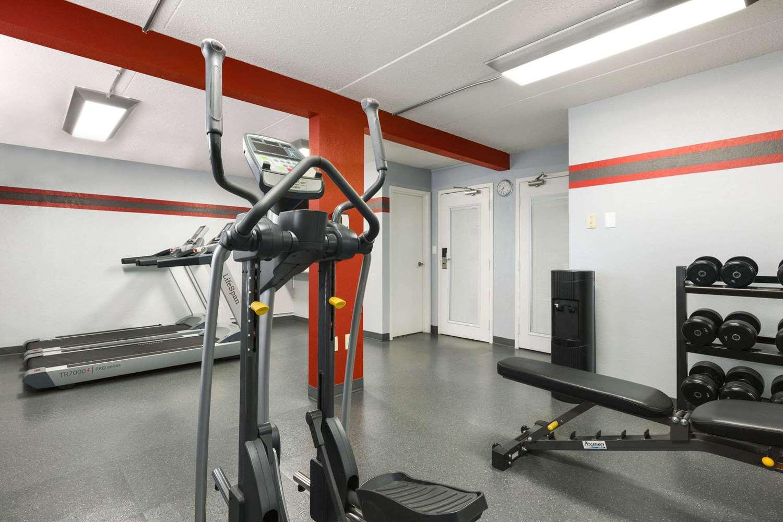 Fitness/ Exercise Room - Travelodge West Edmonton