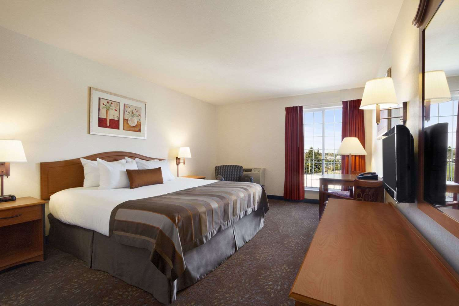 Room - Ramada Inn & Suites Airport SeaTac