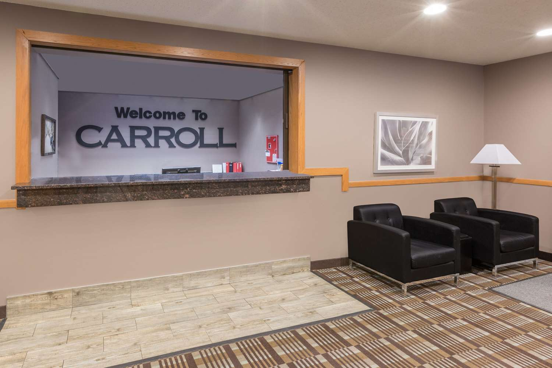 Lobby - Super 8 Hotel Carroll