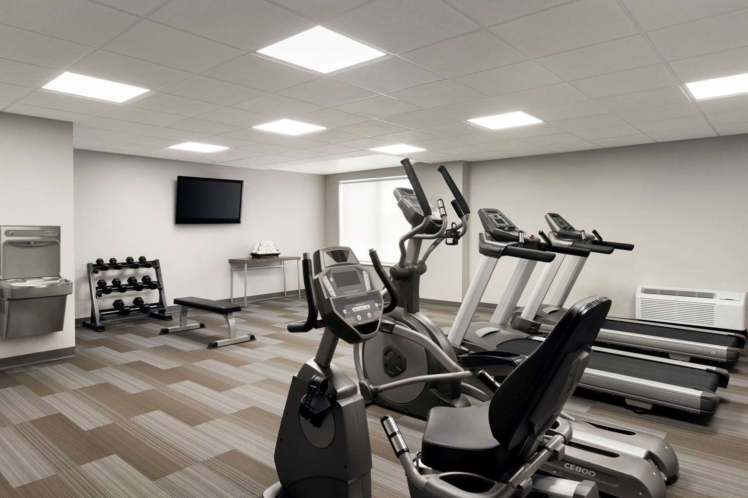 Fitness/ Exercise Room - Wingate by Wyndham Hotel Blue Ash