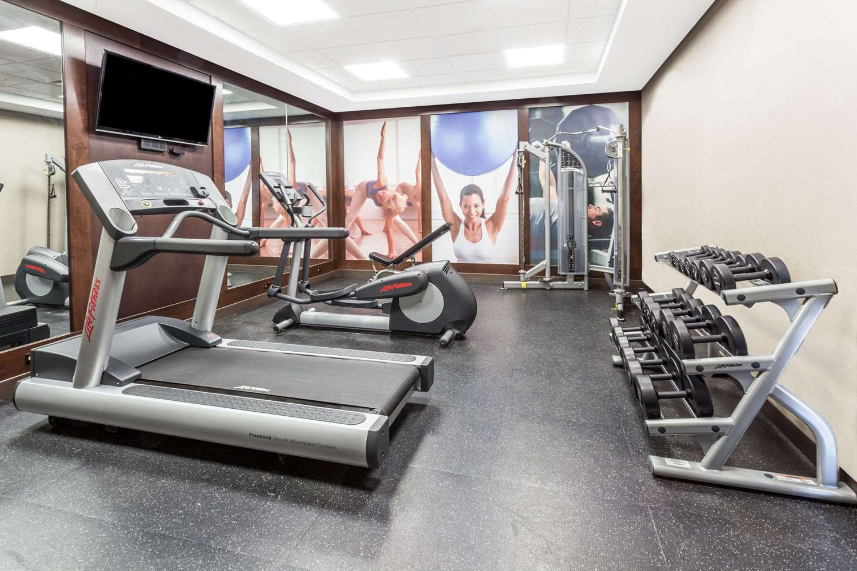 Fitness/ Exercise Room - Super 8 Hotel Wetaskiwin