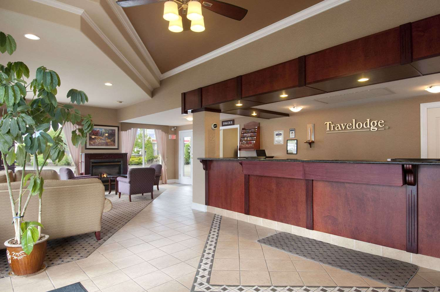 Lobby - Travelodge Fraser Highway Langley