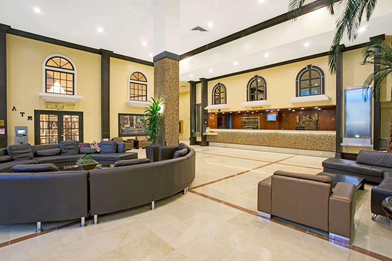 Lobby - Ramada Inn Resort Sunny Isles Beach