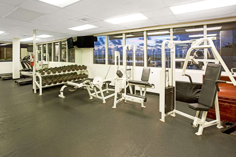 Fitness/ Exercise Room - Ramada Inn Resort Sunny Isles Beach