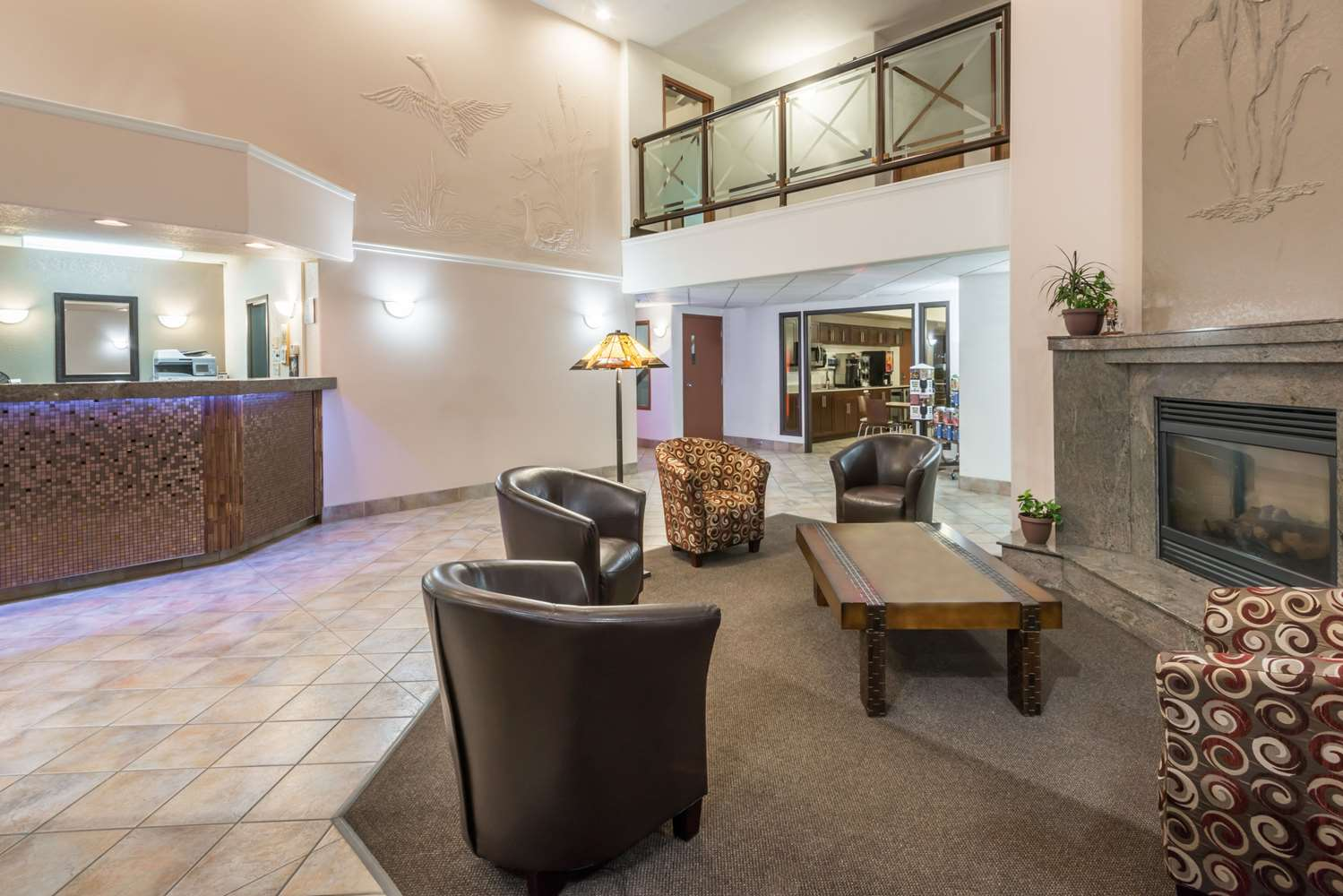 Lobby - Super 8 Hotel Vermilion