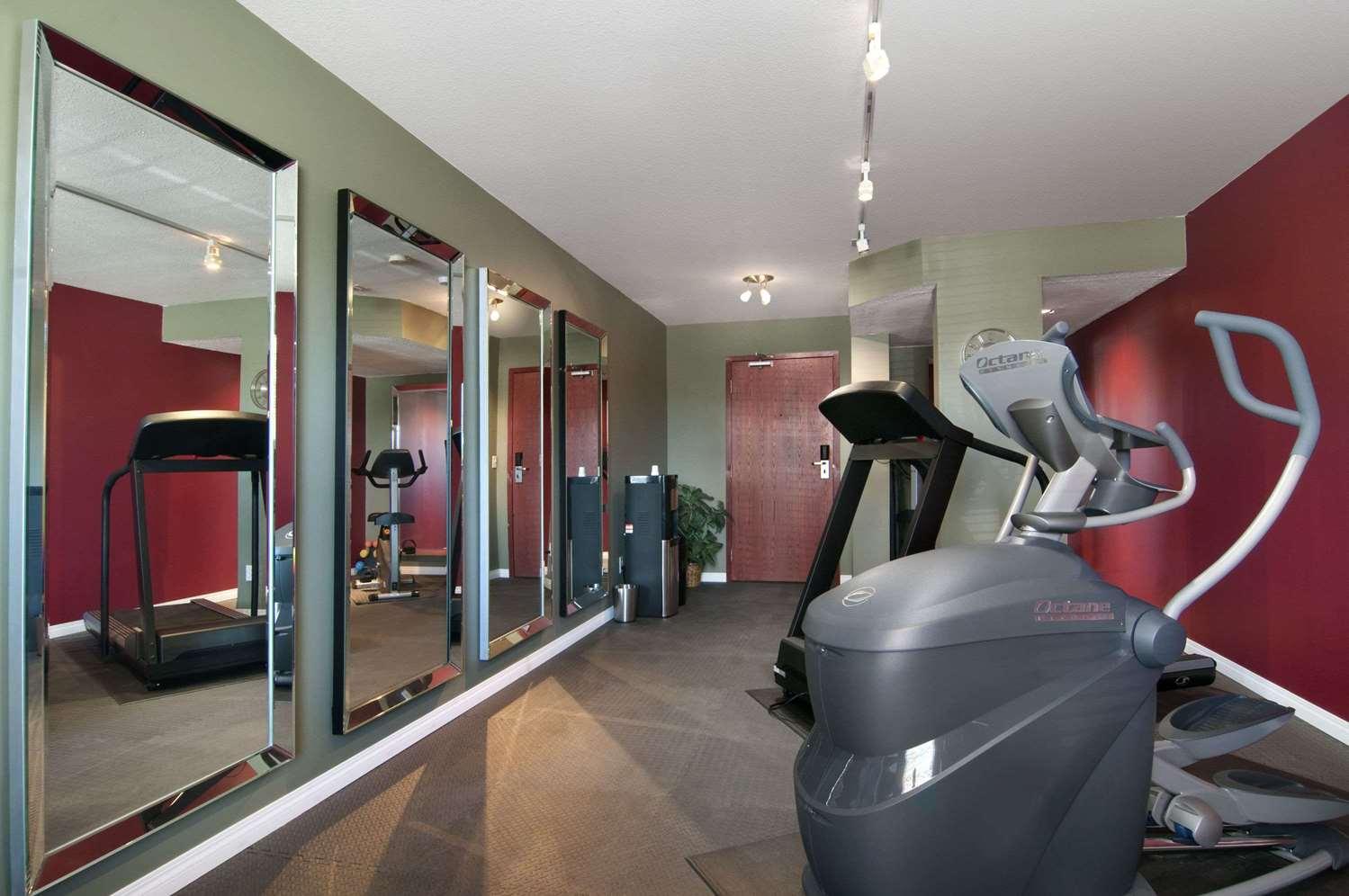 Fitness/ Exercise Room - Travelodge Stony Plain