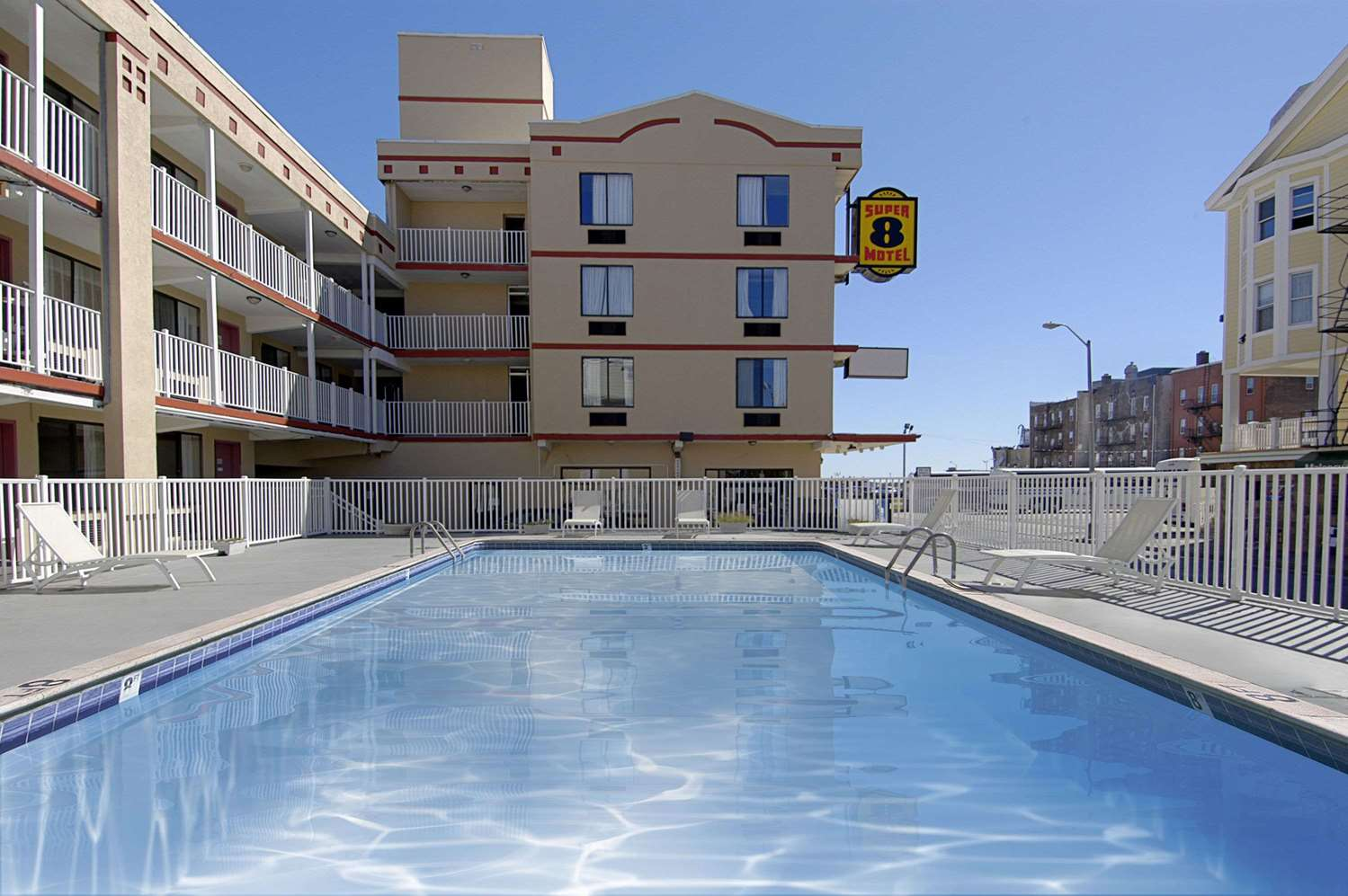 Pool - Super 8 Hotel Atlantic City