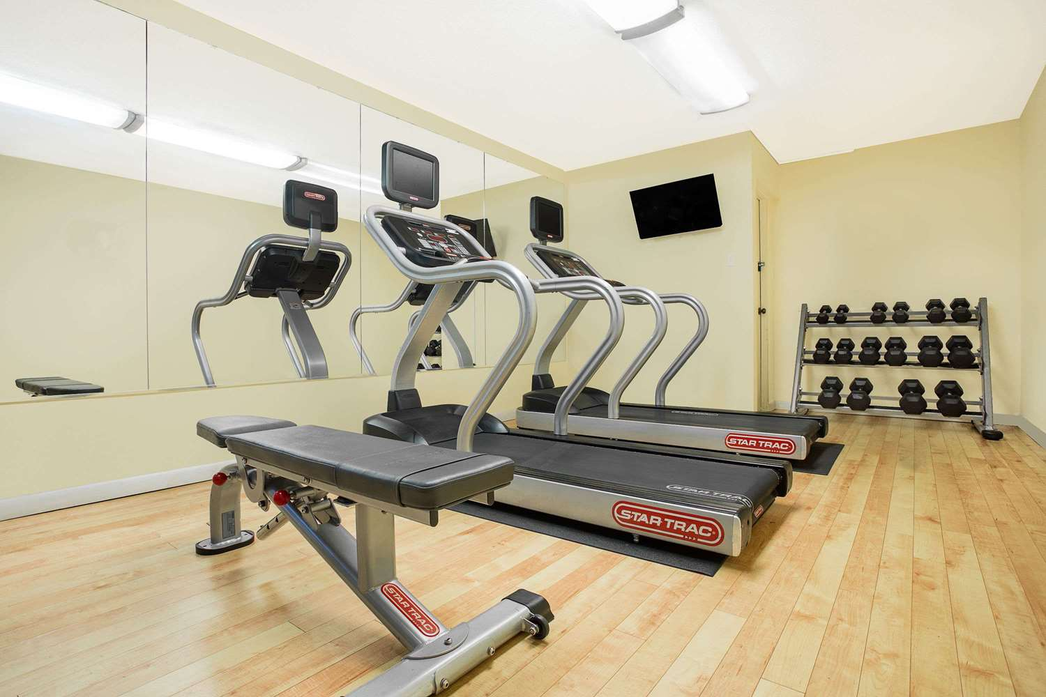 Fitness/ Exercise Room - Days Inn Asheville Mall