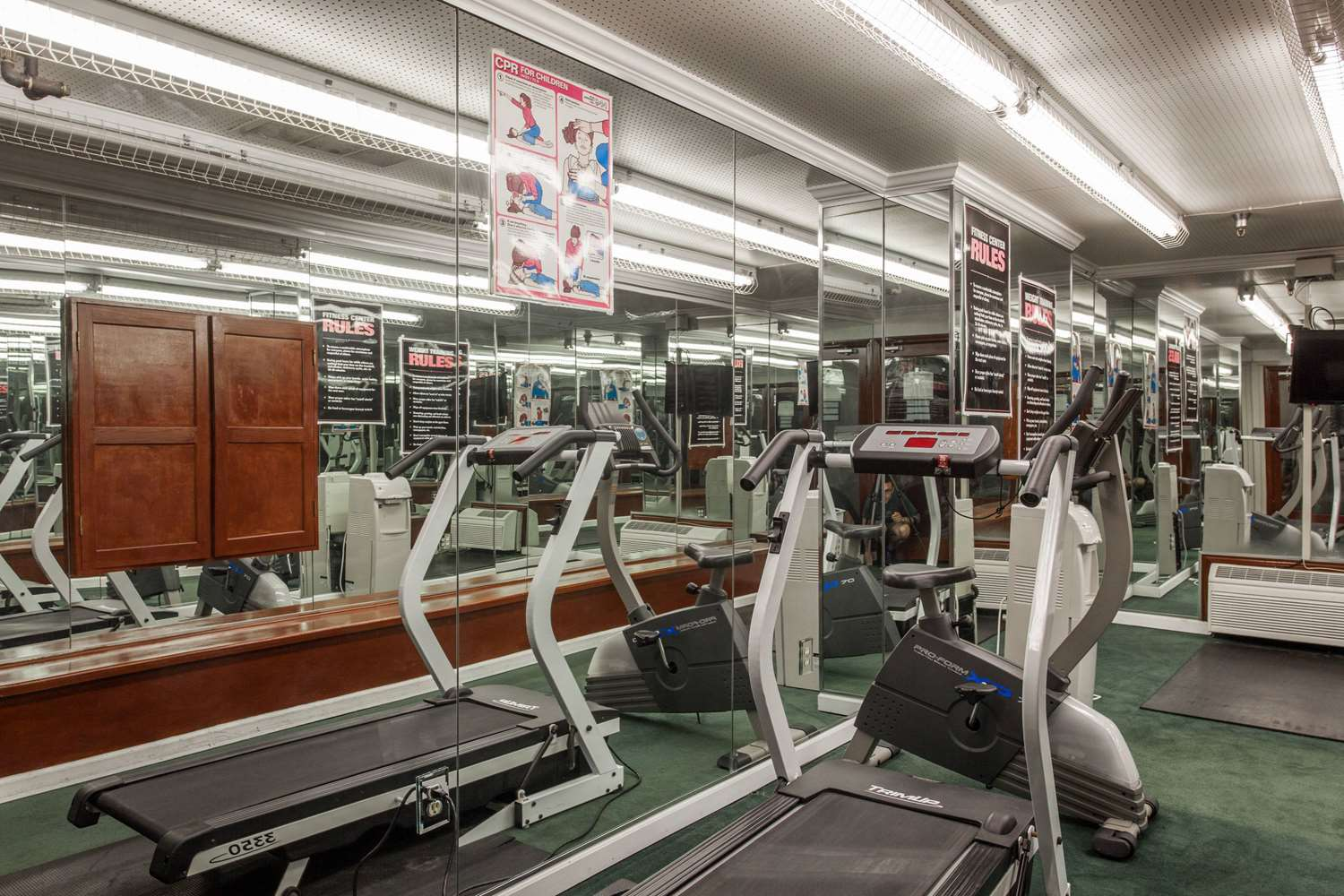 Fitness/ Exercise Room - Ramada Hotel Convention Center Anaheim