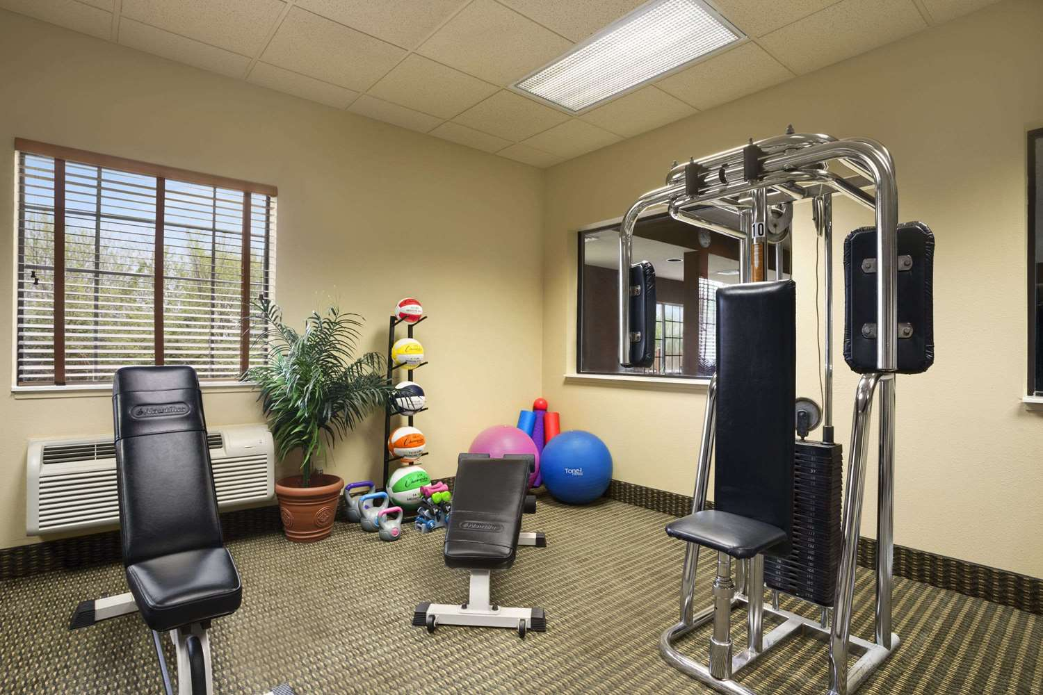 Fitness/ Exercise Room - Super 8 Hotel Troy