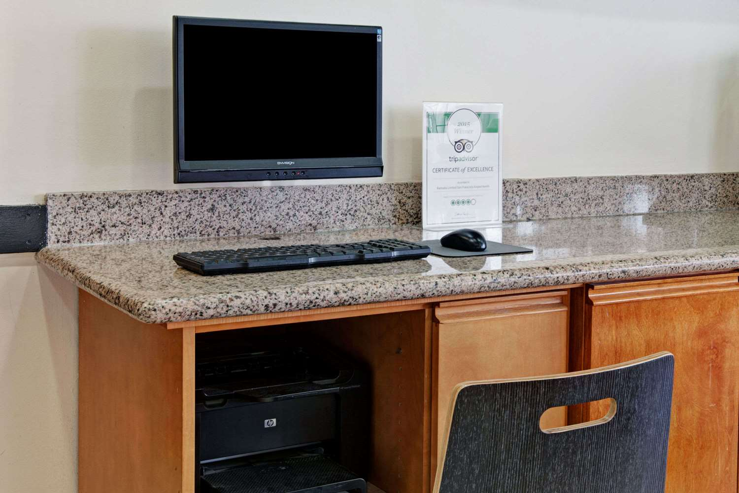 Conference Area - Ramada Limited Hotel SFO Airport South San Francisco