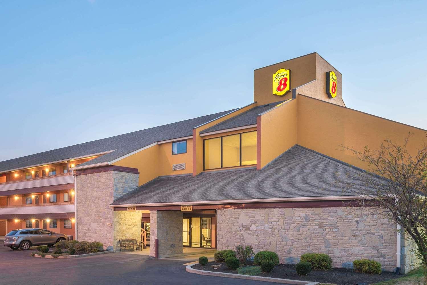 Exterior view - Super 8 Hotel Dayton International Airport Vandalia