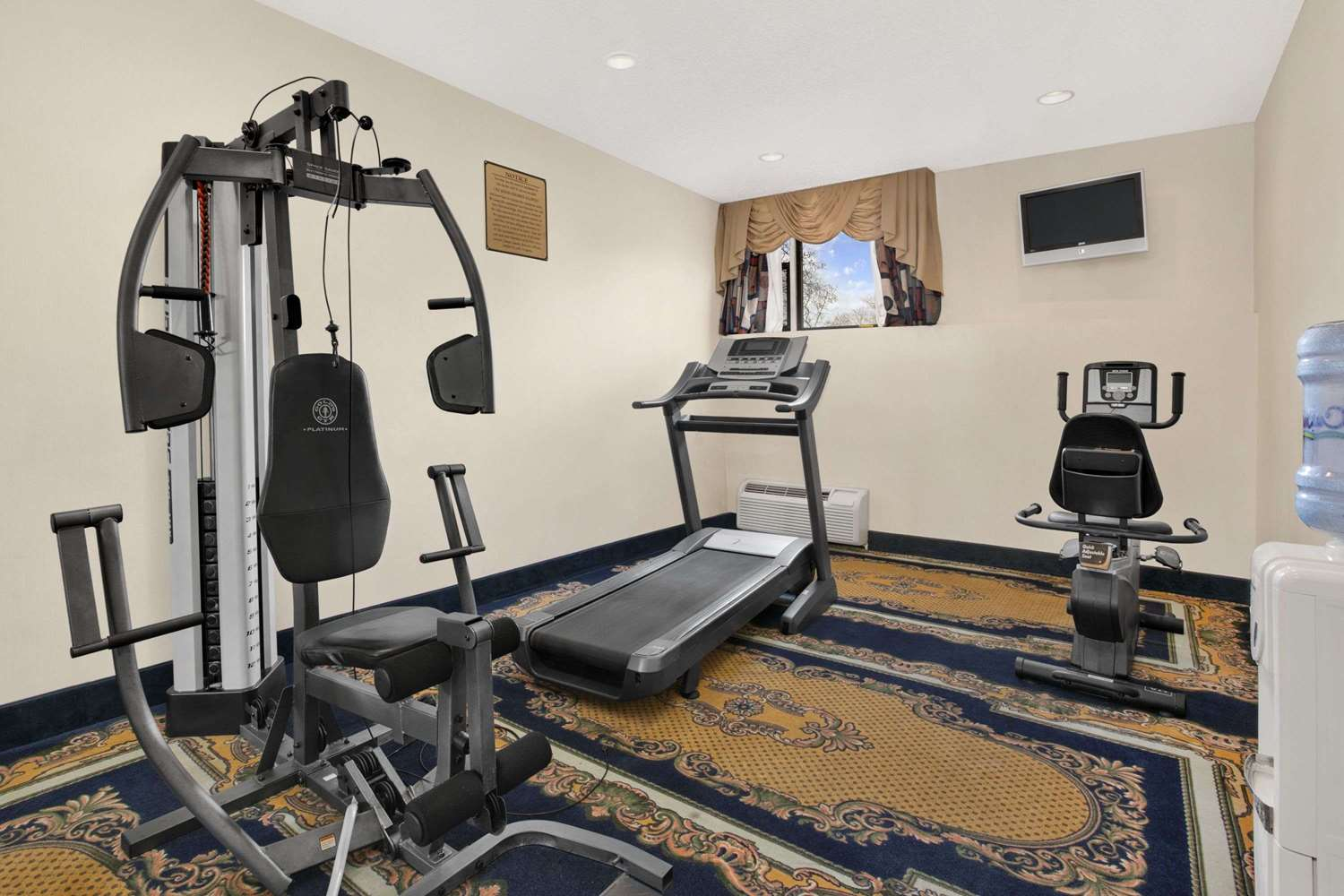 Fitness/ Exercise Room - Ramada Inn East Orange