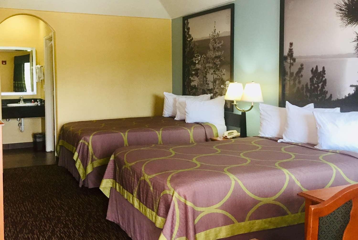 Room - Super 8 Hotel Montgomery