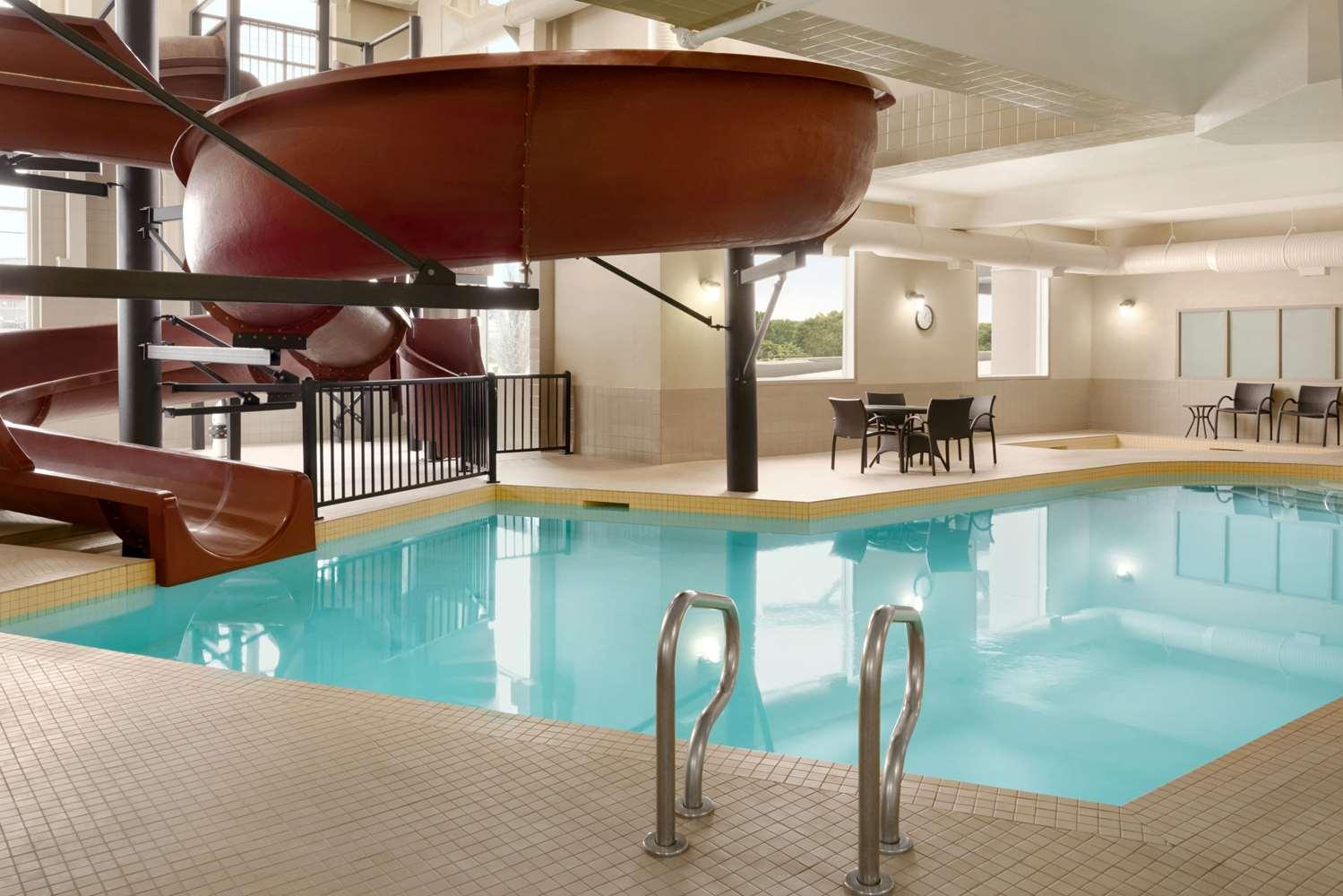 Pool - Ramada Inn & Suites Airdrie