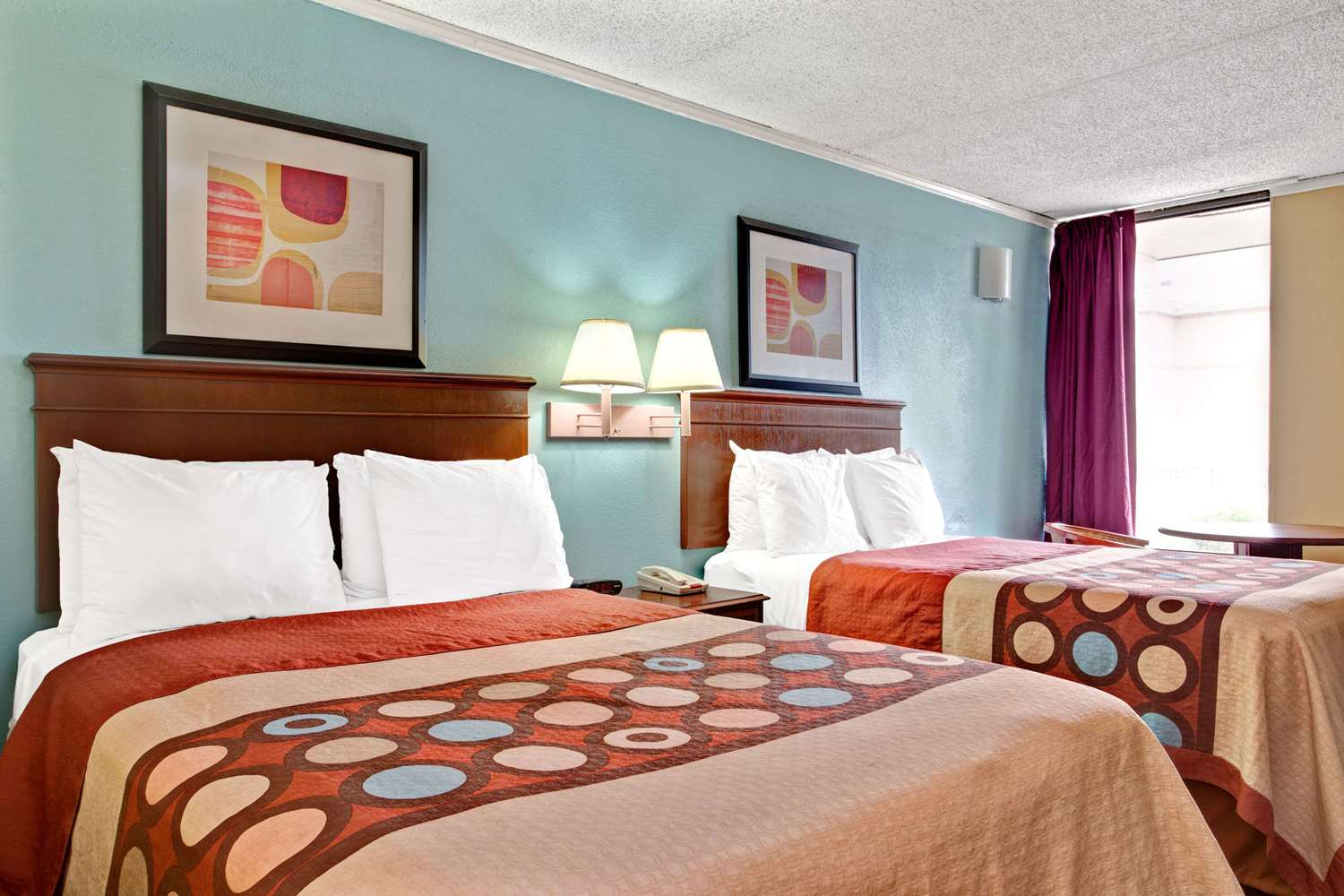 Room - Super 8 Hotel South Raleigh