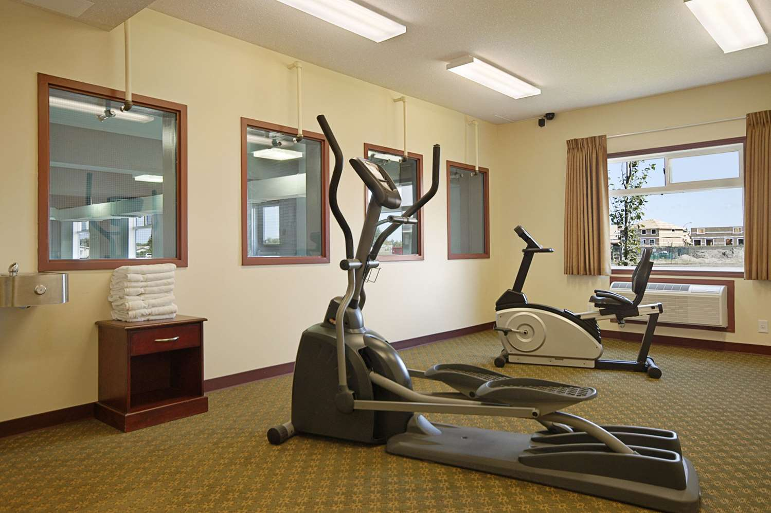 Fitness/ Exercise Room - Super 8 Hotel Fort Saskatchewan