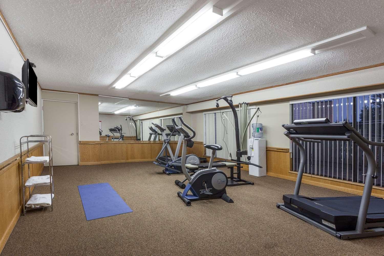Fitness/ Exercise Room - Ramada Inn Coquitlam