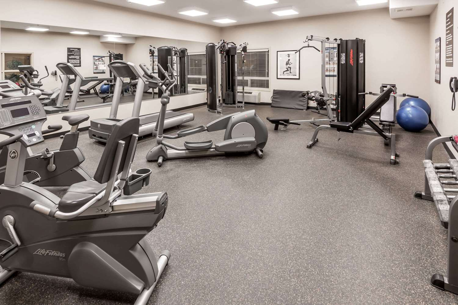 Fitness/ Exercise Room - Ramada Inn High River