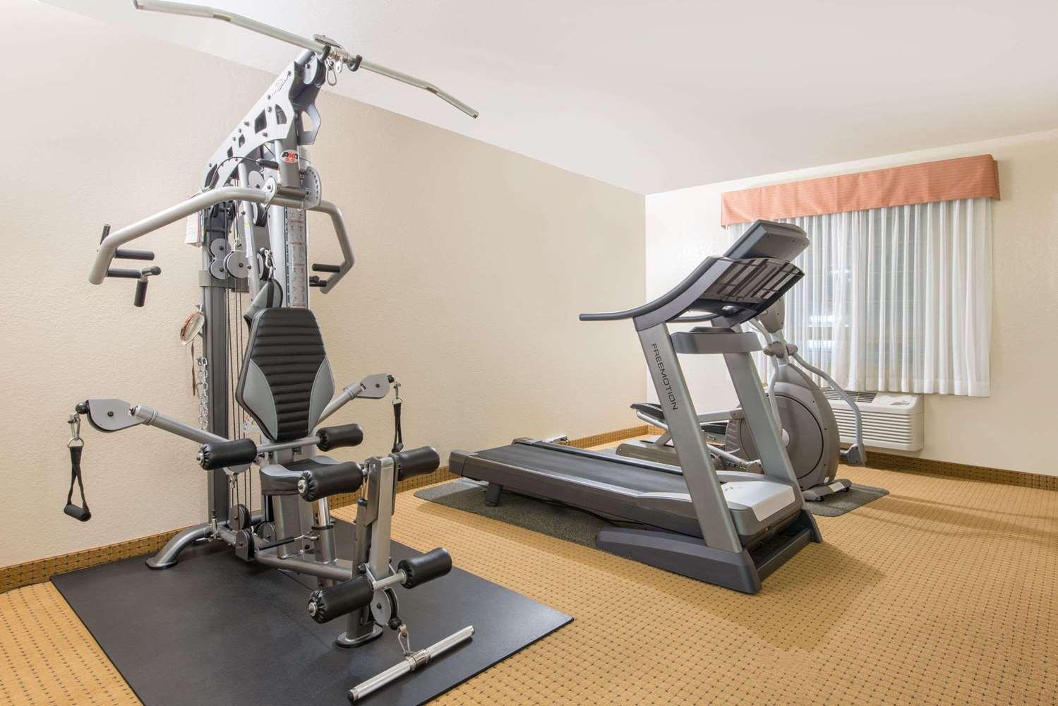 Fitness/ Exercise Room - Ramada Inn Lloydminster